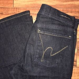 Citizens of Humanity size 28 stay gold dark jeans